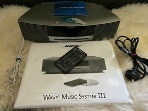 BOSE Wave Music System Series III - Platinum - Limited Edition