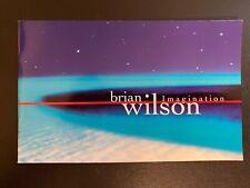Brian Wilson Imagination Promo Booklet (1998)