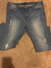 Forever 21 Distressed Jeans, Size 20