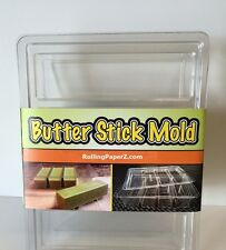 EASY BUTTER MAKER MOLD - FORMS and STORES 1,2,3 or 4 Sticks - FDA approved