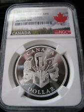 **2007**Celebration of the Arts, NGC Graded Canadian Silver Dollar**PF-70 UC**