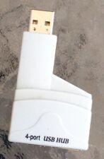 Puerto USB 4 Belkin Mini-Móvil Hub (usado)