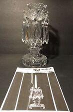 "*VINTAGE* Waterford Crystal C1 (1980-) Candelabra Candlestick Holder 10"" IRELAND"