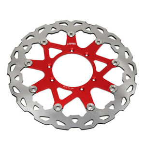 320MM Front Floating Brake Disc Rotor For HONDA CR CRF 125 250 450 Motorcycle