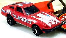 RARE Vintage 1980 Kidco Datsun 280ZX Red Burnin Key Car w LAUNCH KEY 1/64 Scale