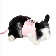 Adjustable Cute Pet Hamster Rabbit Leash Collars Harness Straps For Small Pets