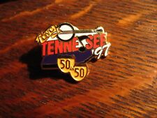 QVC Vintage 1997 Lapel Pin - Tennessee Home Shopping Channel 50 In 50 Tour Pin