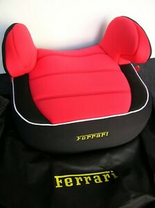 FERRARI ORIGINAL CHILD CAR SEAT F430 360 355 488 458 F90 LaFERRARI  + DUST BAG