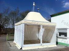 Festzelt Partyzelt Pagode 5x5m Profizelt / Mit teiltransparentem Dach