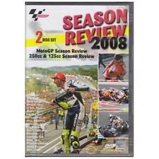DVD MOTOGP 2008 SEASON REVIEW 2DISC +250/125cc MOTORCYCLE SPORT ALL REGION [BNS]