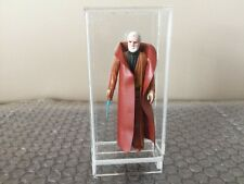 Star Wars BEN OBI-WAN KENOBI Vintage 1977 Kenner White HAIR HK Acrylic Case Look
