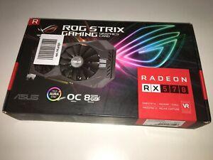 ASUS ROG STRIX RADEON RX 570 8 GB GAMING *2 ANNI DI GARANZIA* NUOVA