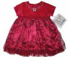 NWT Two Turtle Doves by Sweet Potatoes Holiday Christmas Dress & Sweater Set 12m