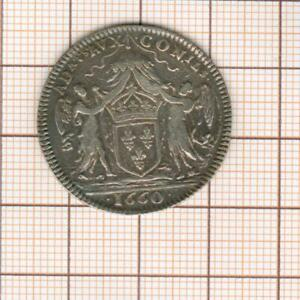 Rare Token Silver Barristers IN The Board Of King 1660