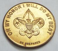 United States Boy Scouts On My Honor I Will Do My Best Token Coin Baden Powell