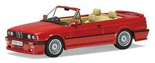 Corgi Vanguards VA13700 BMW (E30) Alpina C2.5 Convertible in Brilliant Red 1:43