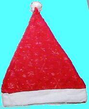 Christmas Xmas Snowflake Design Santa Claus Hat Cap - BRAND NEW