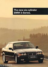 1996 BMW 3 SERIES 6 Cylinder Brochure/Catalog: 328i, 328is, Convertible