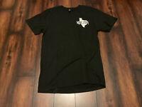 Motorcycle Texas Strong Tee T-Shirt History Black Sz XL History Est. 1845