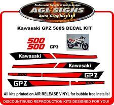 1987 Kawasaki GPZ 500  Reproduction Decal Set    500S  NINJA GP Z
