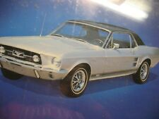 MUSTANG  1967 G. T. A. COUPE   20  X 16''   POWER  GRAPHICS CORP   1982 ORIGINAL