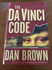 The Da Vinci Code Dan Brown First Edition 1st Printing Hcdj