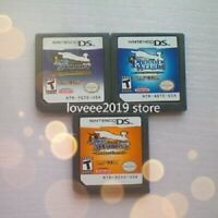 NDS GAME Phoenix Wright:Ace Attorney/Justice For All/Trials and Tribulations....