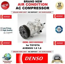 DENSO AIR CONDITIONING AC COMPRESSOR OEM: 8831005080 for TOYOTA AVENSIS 1.6 1.8