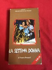 LA SETTIMA DONNA VHS PAL full carton The Last House On The Beach Uncut w/screen