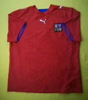 5/5 Czech Republic jersey XL 2006 2007 home shirt soccer football Puma ig93