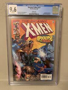 Uncanny X-Men #377 CGC 9.6 NM+ Leinil Francis Yu Variant Cover