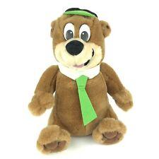 "Vintage Hanna Barbera Yogi Bear 8"" Stuffed Plush Animal Toy 1996"