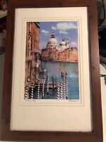 Vintage Painting By Numbers Venice Italy Gondola Grand Canal Saint Mark Basilica