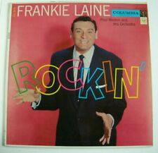 Frankie Laine  Rockin' LP Columbia CL975, 6 eye, Paul Weston Orchestra