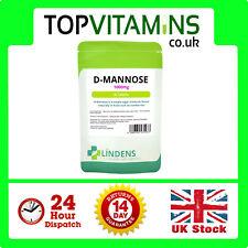 Lindens D-mannose D Mannose 1000mg 30 Tablets DMannose Best Quality Supplement