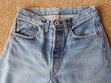 Levis Big E Selvedge Vintage 501 Jeans 28 x 32