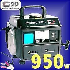 Generador de gasolina portátil 950 W SIP 230 V Barco Caravana Compacto Maleta