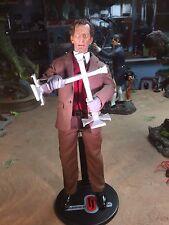 "Custom 12"" 1/6 Peter Cushing Van Helsing Dracula Figure Hammer Horror"