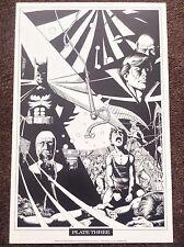 Batman Imprimir George Perez 1989 Vintage Comic Art Raros Nuevos Titanes Dc Fantasía 3