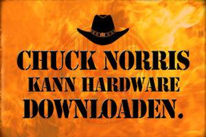 Chuck Norris Spruch 32 Blechschild Schild gewölbt Metal Tin Sign 20 x 30 cm