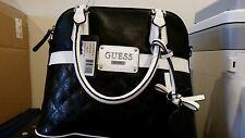 Guess Handbag Rose Bud Style ST494105 Black New With Tags