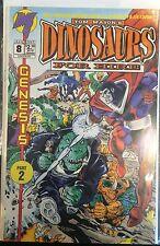 Dinosaurs For Hire #8 VF 1st Print Free UK P&P Malibu Comics