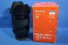 Sony FE 24-240mm F3.5-6.3 OSS Telephoto Zoom Lens SEL24240 Nex A7 A7s A7R III