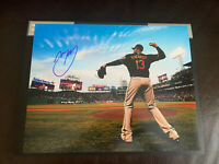 Manny Machado Signed 11x14 Photo