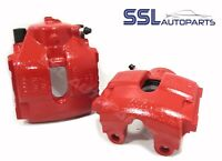 BMW E46 M3 3.2 Front RED Remanufactured Brake Caliper NEARSIDE