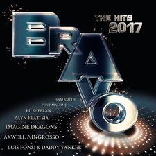 BRAVO THE HITS 2017, KATY PERRY, ALMA, KAY ONE, MAROON 5,MARK FORSTER  2 CD NEU