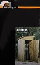 Jaguar Models 1/16 Outhouse (Resin Kit) - JAG-61602