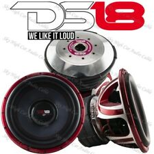 """DS18 HOOL X15.4D 15"""" Subwoofer 6000W Max Dual 4ohm 15in SPL Bass Competition Sub"""