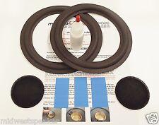 "Advent 1008 2002 8"" Woofer Refoam Kit - Speaker Foam Repair w/ Shims & Dust Caps"