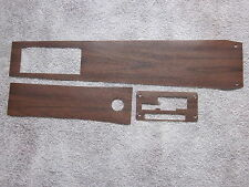 1967 GTO vinyl wood grain console trim for models with a duel gate auto trans